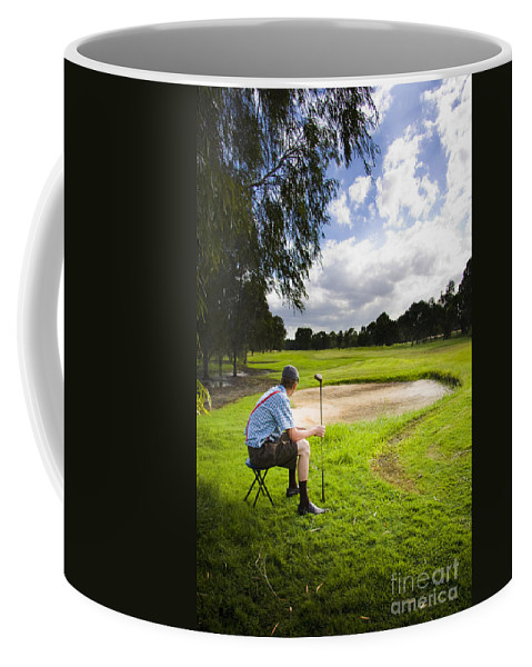 Playground Coffee Mug featuring the photograph Golf Course by Jorgo Photography - Wall Art Gallery