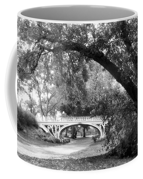 Gothic Coffee Mug featuring the photograph Gothic Bridge by Jessica Jenney