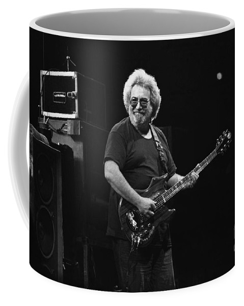Jerry Garcia Coffee Mug featuring the photograph Grateful Dead by Concert Photos