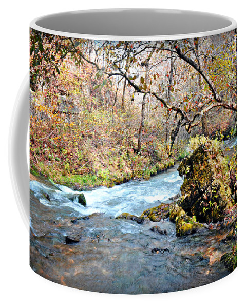 Greer Spring Coffee Mug featuring the photograph Greer Spring by Marty Koch