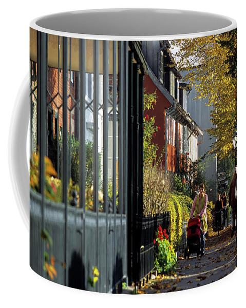 Autumn Coffee Mug featuring the photograph Hamburg, Germany Historic Captains by Marc Steinmetz