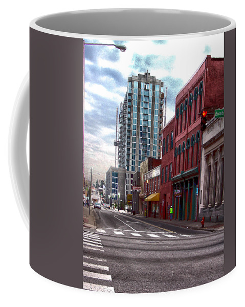 Photography Coffee Mug featuring the photograph Street Photography Nashville Tn by Lesa Fine