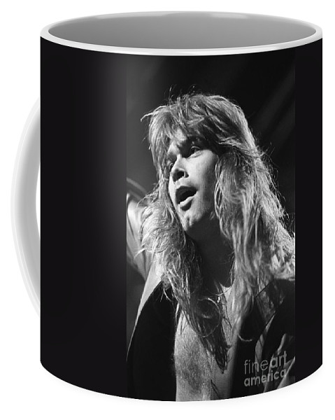 Singer Coffee Mug featuring the photograph Helloween by Concert Photos