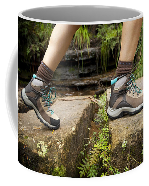 Australia Coffee Mug featuring the photograph Hiking Boots by Tim Hester