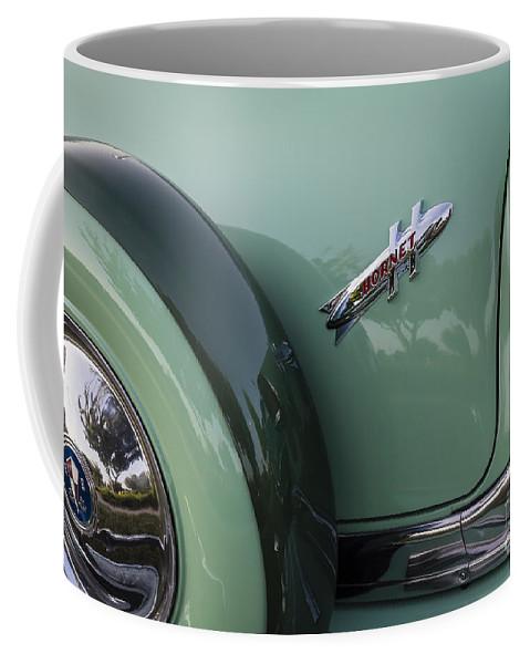 1954 Hudson Coffee Mug featuring the photograph Hudson Hornet by Dennis Hedberg