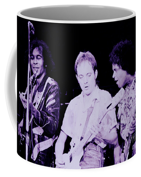 Anthony Sooty Jones Coffee Mug featuring the photograph Humble Pie - On To Victory Tour At The Cow Palace S F 5-16-80 by Daniel Larsen