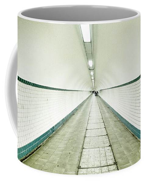 Tunnel Vision Coffee Mug featuring the photograph Into The Light by Brothers Beerens