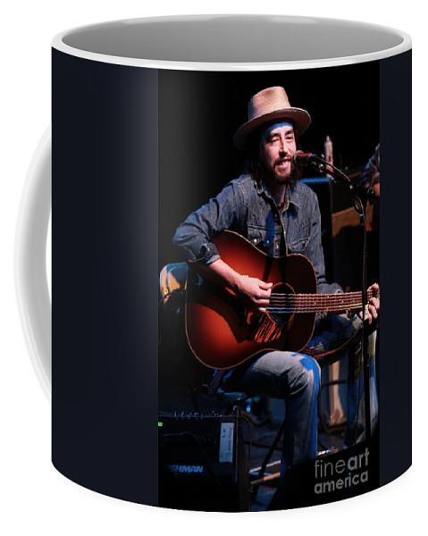 Jackie Greene Coffee Mug featuring the photograph Jackie Greene by Concert Photos