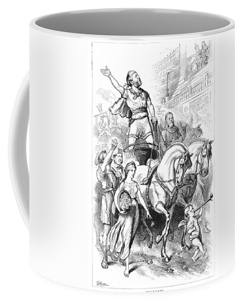 1880 Coffee Mug featuring the painting James by Granger