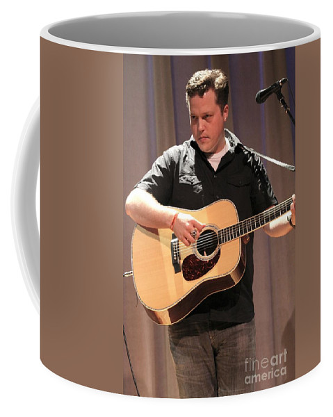 Singer Coffee Mug featuring the photograph Jason Isbell by Concert Photos
