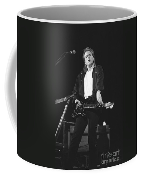 Guitarist Coffee Mug featuring the photograph Jeff Healey by Concert Photos