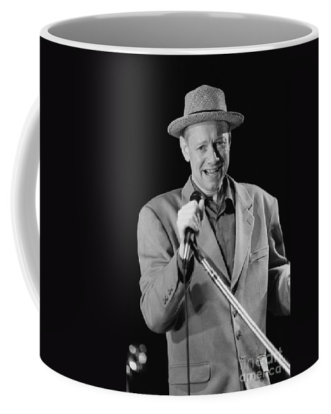 Grammy Nominated Coffee Mug featuring the photograph Joe Jackson by Concert Photos