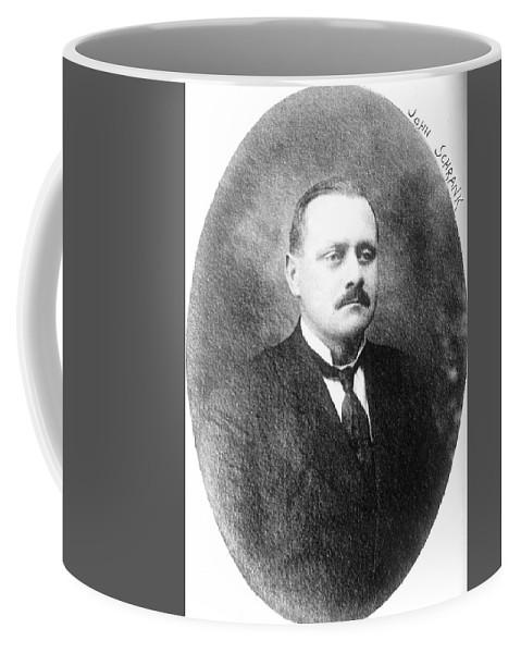 1910 Coffee Mug featuring the photograph John Flammang Schrank (1876-1943) by Granger