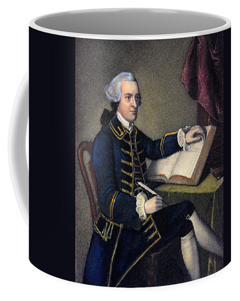 18th Century Coffee Mug featuring the photograph John Hancock (1737-1793) by Granger
