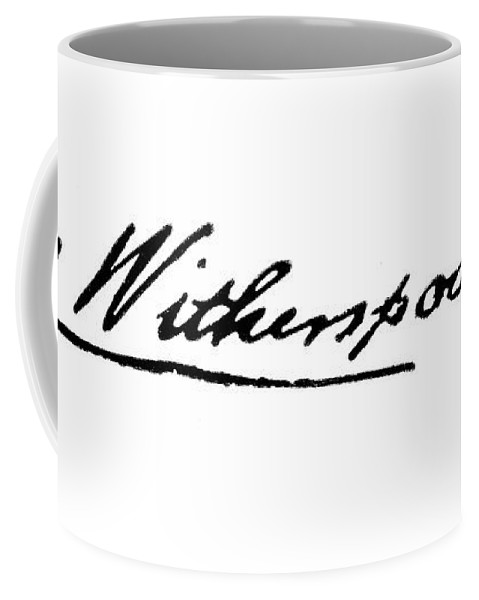 18th Century Coffee Mug featuring the painting John Witherspoon (1723-1794) by Granger