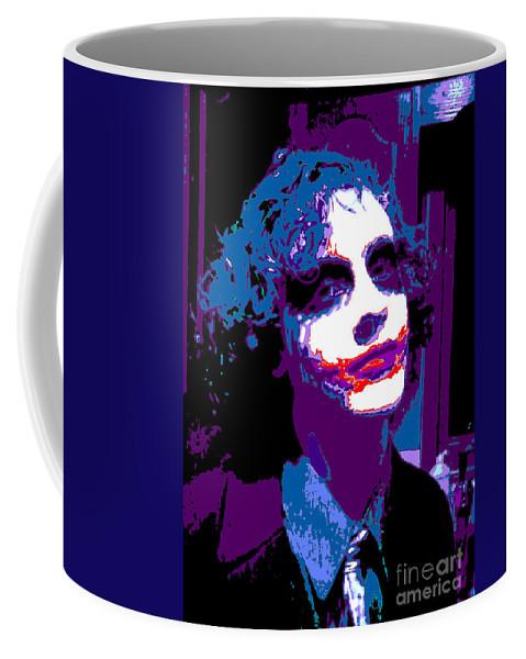 Digital Coffee Mug featuring the digital art Joker 11 by Alys Caviness-Gober