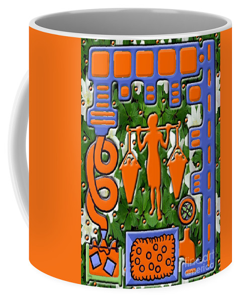 Food Coffee Mug featuring the painting Juice 1 by Patrick J Murphy