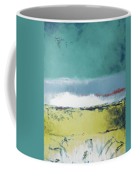 July Coffee Mug featuring the painting July Morning I by Lanie Loreth