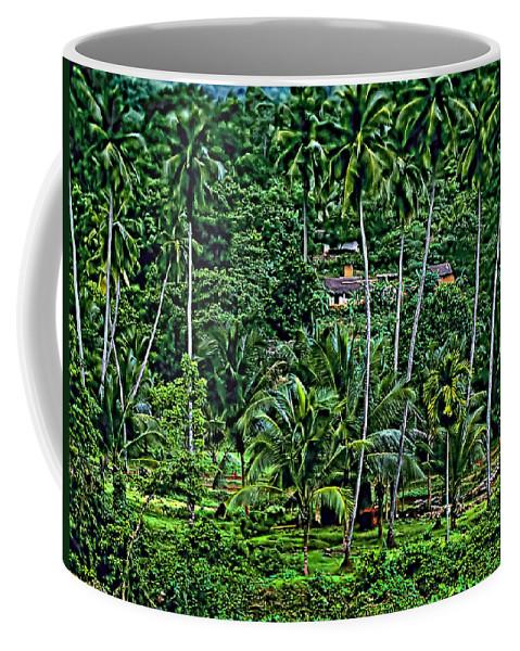 Sri Lanka Coffee Mug featuring the photograph Jungle Life by Steve Harrington