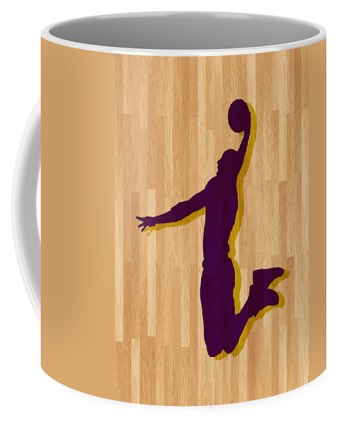 Bryant Coffee Mug featuring the photograph Kobe Bryant Los Angeles Lakers by Joe Hamilton