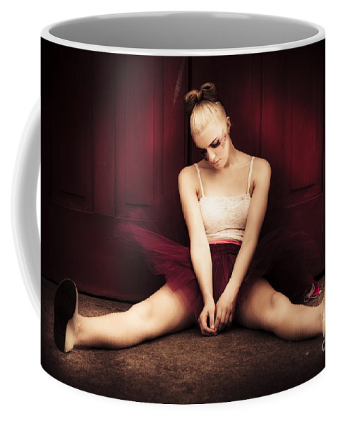 Blond Coffee Mug featuring the photograph Last Dance by Jorgo Photography - Wall Art Gallery