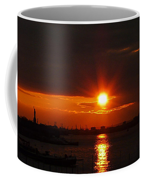 Sunset Coffee Mug featuring the photograph Living Without You by Kendall Eutemey