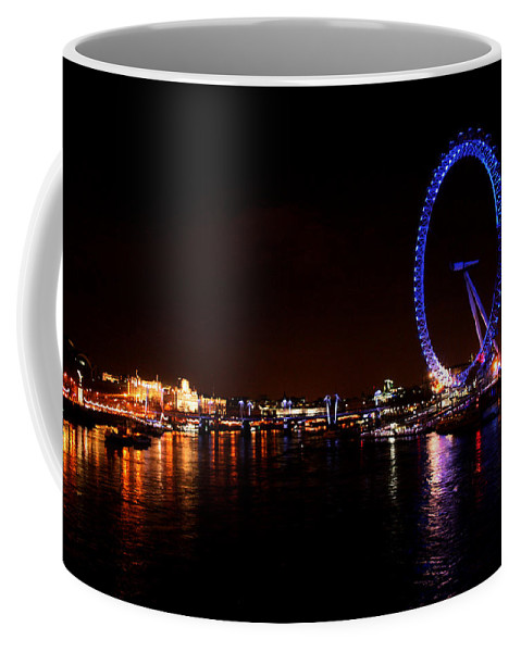 Eye Coffee Mug featuring the photograph River Thames - London by Doc Braham