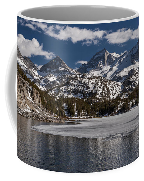 Lake Coffee Mug featuring the photograph Long Lake by Cat Connor