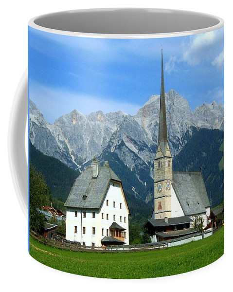 Europe Coffee Mug featuring the photograph Maria Alm by Juergen Weiss