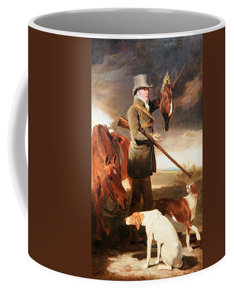 J.g. Coffee Mug featuring the photograph Marshall's J G Shaddick -- The Celebrated Sportsman by Cora Wandel