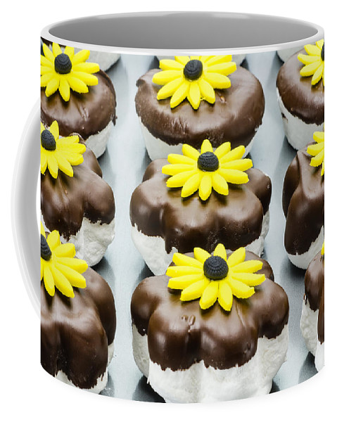 Food Coffee Mug featuring the photograph Marshmallow Cookies by John Trax
