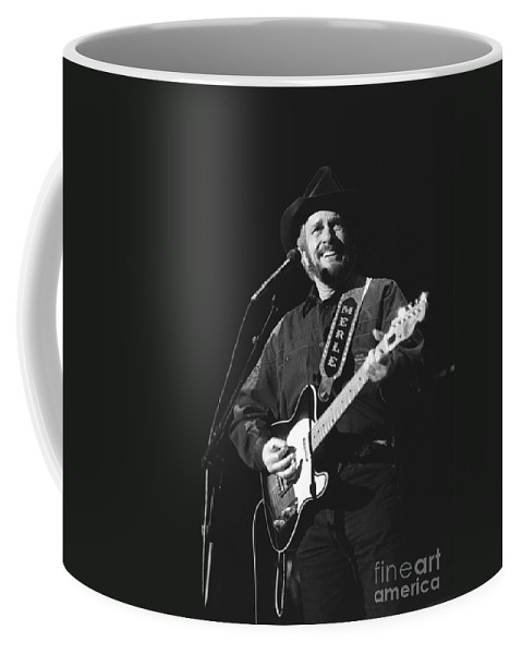 Country Music Coffee Mug featuring the photograph Merle Haggard by Concert Photos