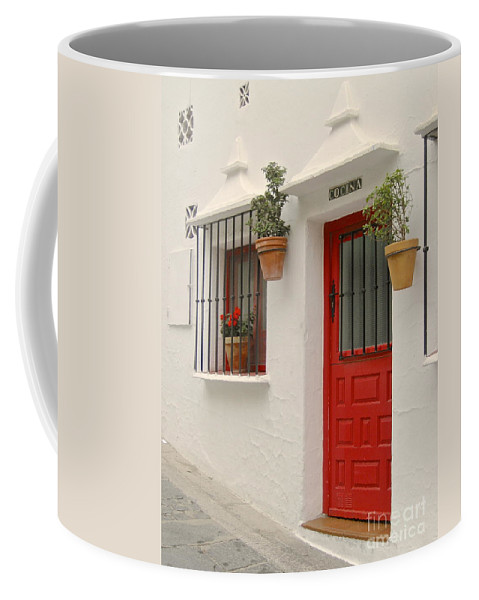 Spain Buildings Coffee Mug featuring the photograph Mi Cocina Es Tu Cocina by Suzanne Oesterling