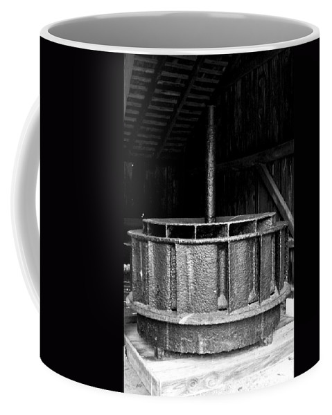 Mill Wheel Coffee Mug featuring the photograph Mill Wheel by Pablo Rosales