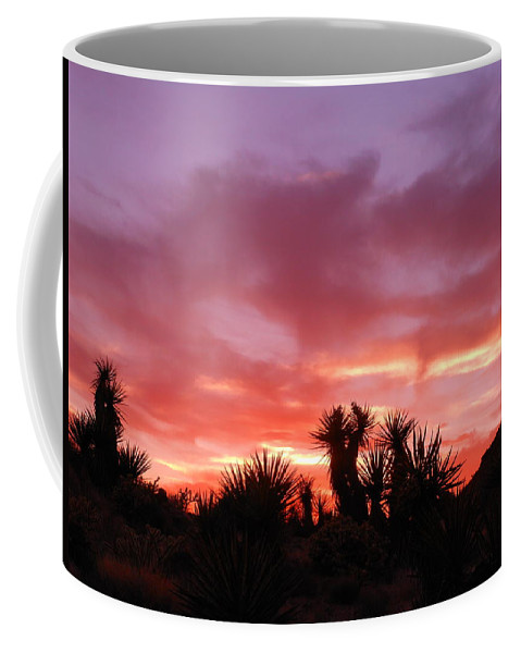 Landscape Coffee Mug featuring the photograph Mohave Color by James Welch