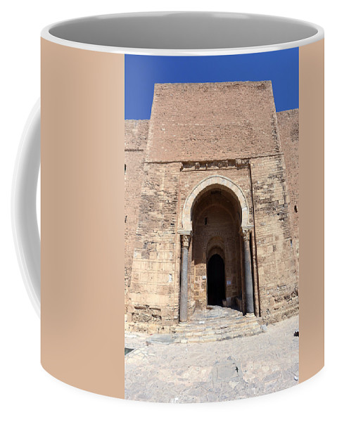 Tunisia Coffee Mug featuring the photograph Monastir Ribat by Paul Fell