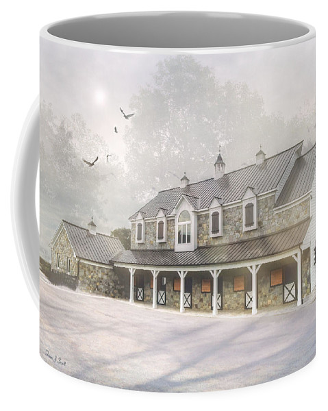 Winter Coffee Mug featuring the photograph Morning Thaw by Fran J Scott