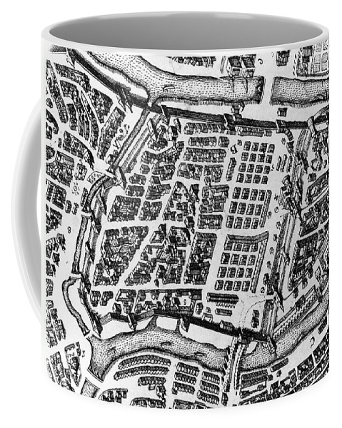 17th Century Coffee Mug featuring the photograph Moscow: Kitai-gorod Map by Granger