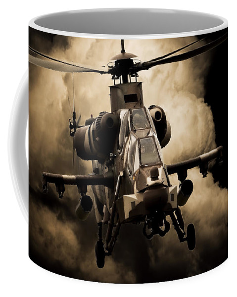 Atlas Rooivalk Coffee Mug featuring the photograph My Office by Paul Job