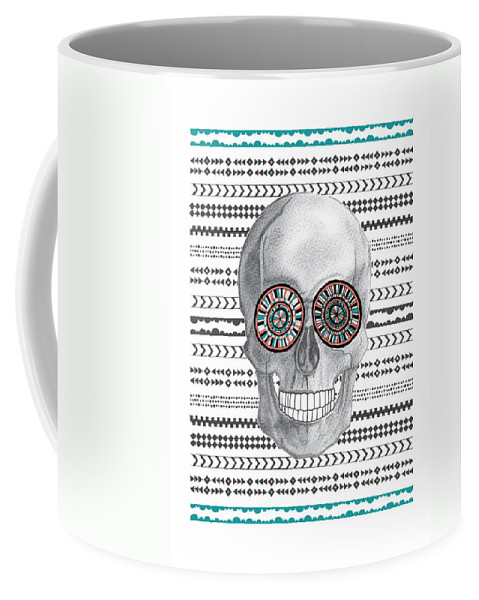 Susan Claire Coffee Mug featuring the photograph Navajo Skull by MGL Meiklejohn Graphics Licensing