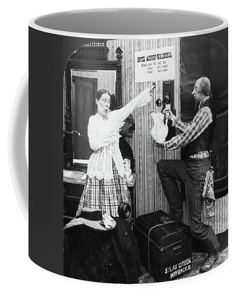 1903 Coffee Mug featuring the painting New York Waldorf-astoria by Granger