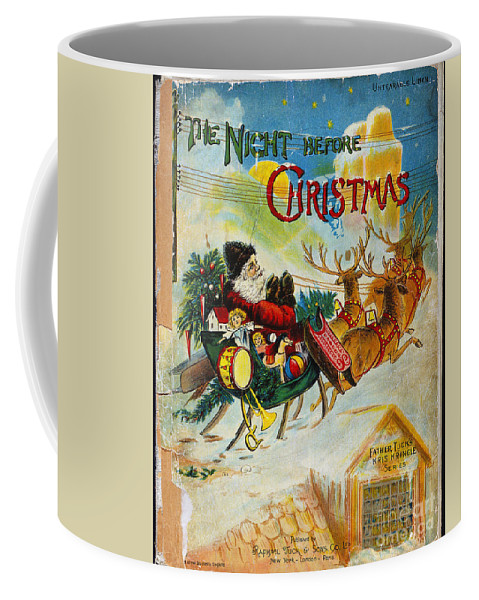 19th Century Coffee Mug featuring the photograph Night Before Christmas by Granger