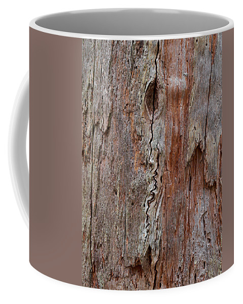 Finland Coffee Mug featuring the photograph Old Wood by Jouko Lehto