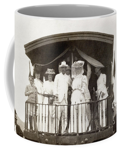 1900s Decade Coffee Mug featuring the photograph Panama Roosevelt, C1906 by Granger