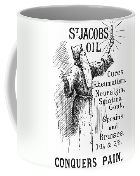 1894 Coffee Mug featuring the photograph Patent Medicine, 1894 by Granger
