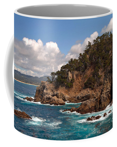 Point Lobos Coffee Mug featuring the photograph Point Lobos by Charlene Mitchell