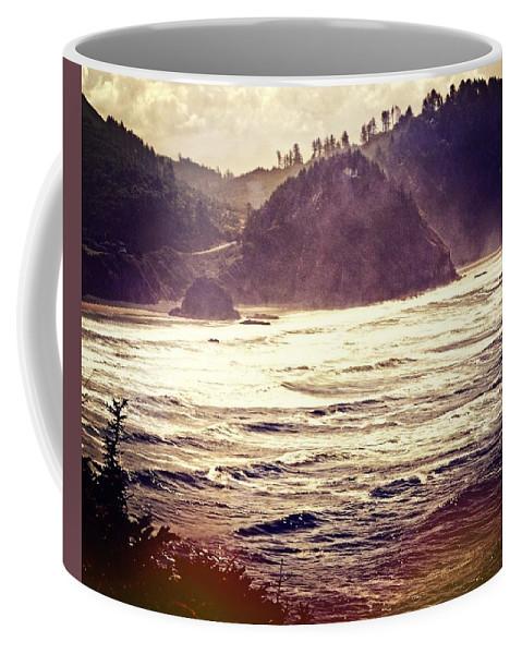 Ocean Coffee Mug featuring the photograph Purple Haze by Marty Koch