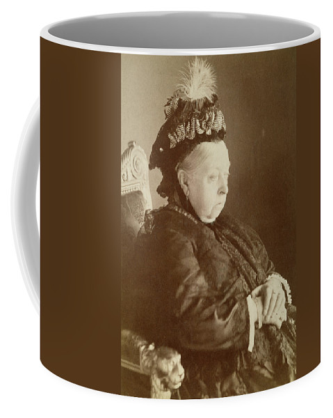 1897 Coffee Mug featuring the photograph Queen Victoria Of England by Granger