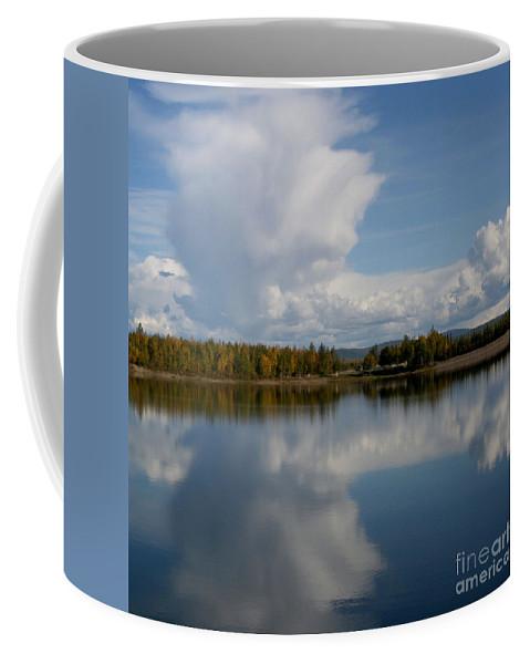 Alaska Coffee Mug featuring the photograph Reflections Of Beauty by Sharon Mau