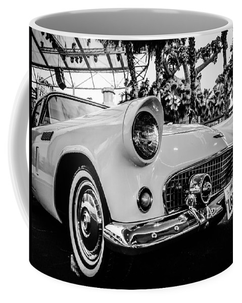 Old Coffee Mug featuring the photograph Retro Car by FL collection